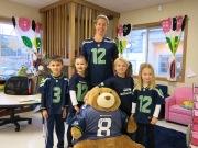 Kindergarten Hawks fans I
