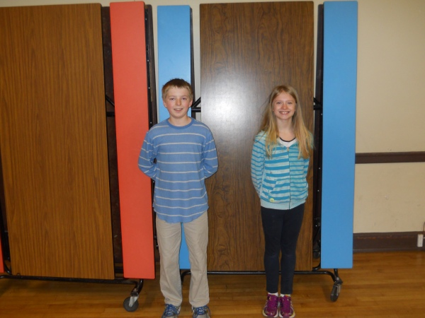 Elissa and JP March 3 Athletes of the Week
