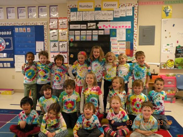 Kindergarten T shirt lesson