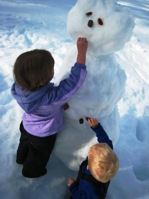 Snowman for February break