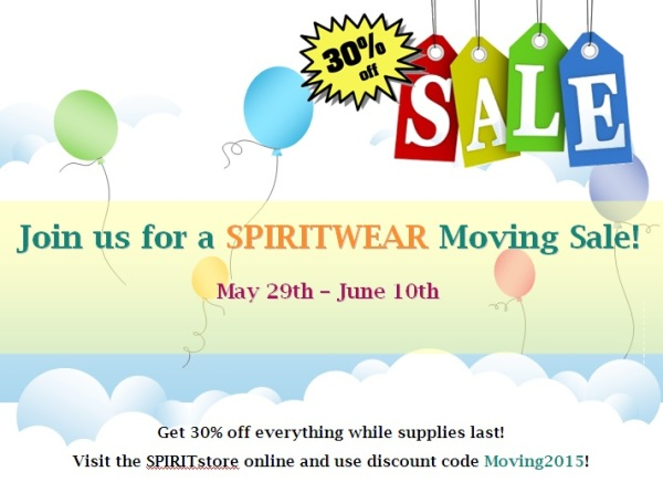 Moving Sale Graphic