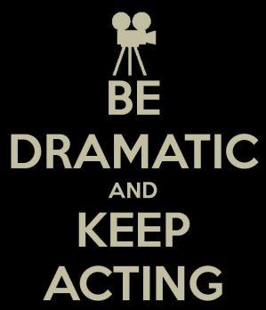 Keep acting