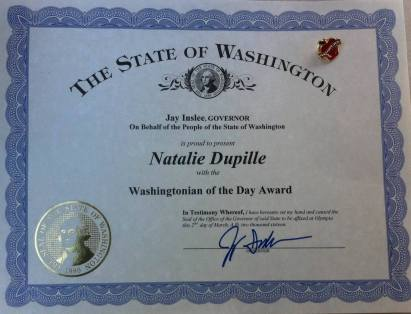 Natalie Dupille Washingtonian for a Day 4